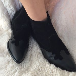 River Island Leather Ankle Boots